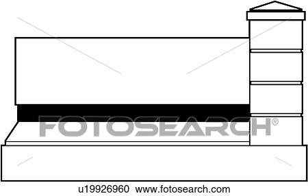 clipart of blank borders monument post rectangle sign rh fotosearch com blank sign clipart free blank sign clipart