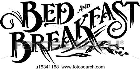 Clip Art of , bed, breakfast, business sign, business signs ...