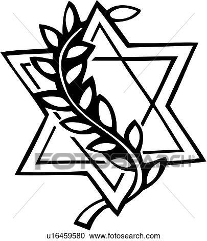 clipart of david israel jew jewish judaism religion star rh fotosearch com jewish clip art images jewish clip art free download