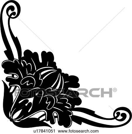 clipart antiker umrandungen ecke schn rkel flourishes verzierungen u17841051 suche. Black Bedroom Furniture Sets. Home Design Ideas