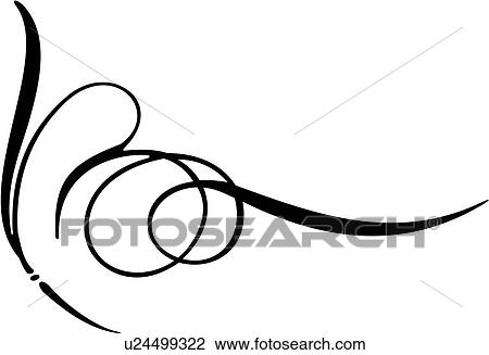 clipart of pinstriping side swirl swirl u24499322 search clip rh fotosearch com spiral graphics genetica spiral graphics