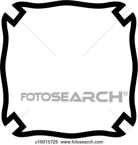 Clipart of , badge, department, fire, plaque, fire department ...