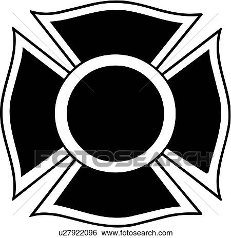 Clip Art of , chief, cross, department, emergency, emergency ...