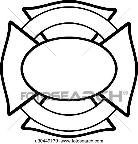 Clip Art of , cross, department, emergency, emergency services ...