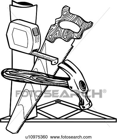 Stick Figure Clip Art Image 18166 moreover Pencil School Coloring Pages further Index php furthermore Bandsaw mill as well 10 Best Far Side Cartoons. on drawings of construction tools