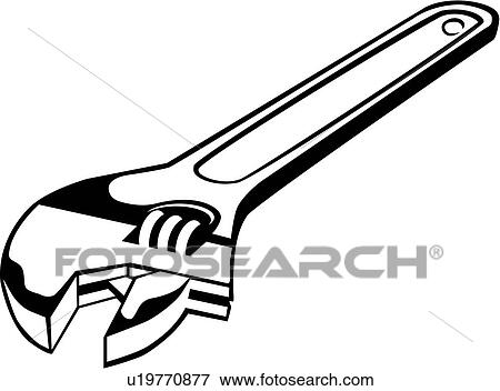 Wrench Clip Clip Art Crescent Wrench