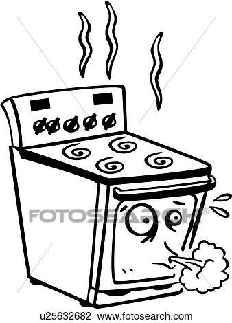 Clipart appareil br leur dessin anim cuisinier for Dessin cuisine