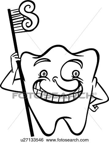 clipart dents dessin anim dentaire dentiste dent brosse dents