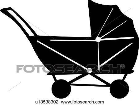 Baby stroller Clip Art and Illustration. 5,654 baby stroller ...