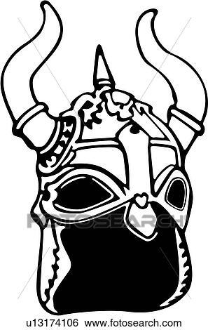 Clipart armure casque moyen ge viking guerrier weapons u13174106 recherchez des - Dessin armure ...