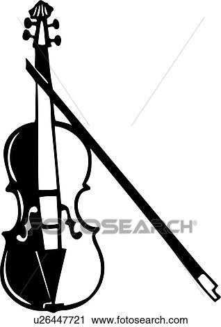 clipart of instrument music musical violin u26447721 search rh fotosearch com musical instruments clip art images musical instruments clipart images