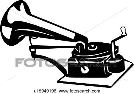 Phonograph Clipart and Illustration. 862 phonograph clip art ...
