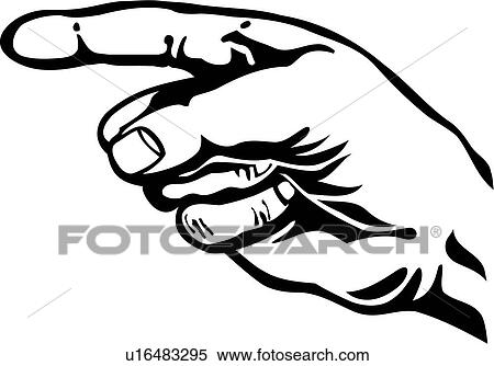 Pointing finger Clipart Royalty Free. 15,921 pointing finger clip ...