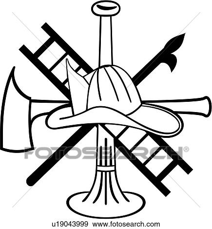 clip art of axe bugle department emergency emergency rh fotosearch com clipart maltese cross maltese flag clipart