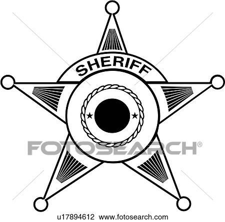 Clipart - écusson, flic, département, député, urgence, services ...