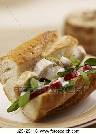 Banque d'Images - nourriture, styling, plat, ficelle, pain ...