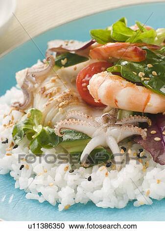 Кулинария салаты из морепродуктов фото