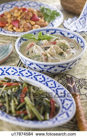 Banque de photo cuisine tha landaise u17874584 for Cuisine thailandaise