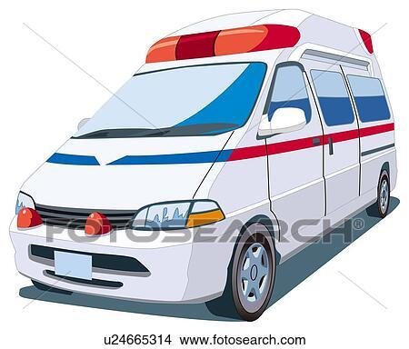 Ambulance Car Drawing Drawing Ambulance