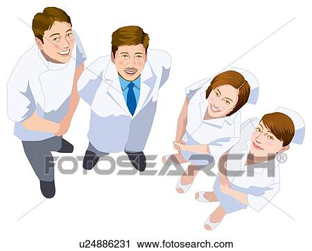 Clipart of Medical Staff u24886231 - Search Clip Art, Illustration ...