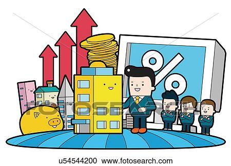 Stock Illustrations of Economic Effect u54544200 - Search ...