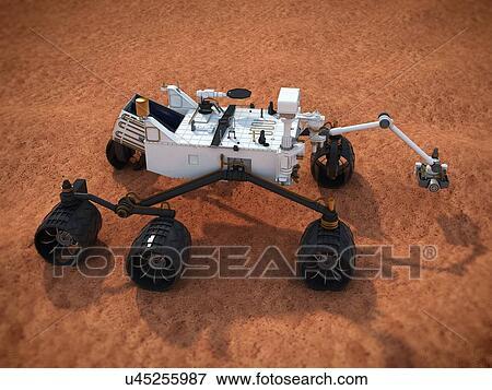 curiosity mars rover clip art - photo #17