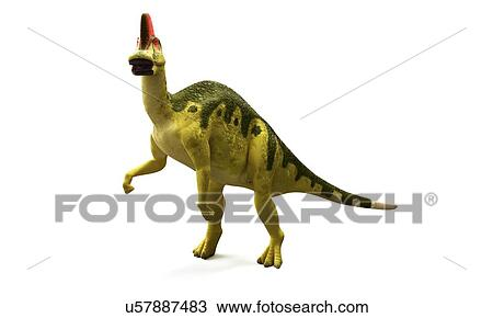 drawing hadrosaurus dinosaur artwork fotosearch search clipart illustration fine art