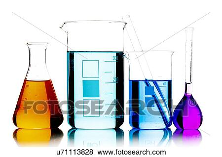 Stock Illustration of Laboratory glassware u71113828 ...