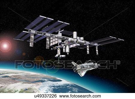International Satellite Clip Art