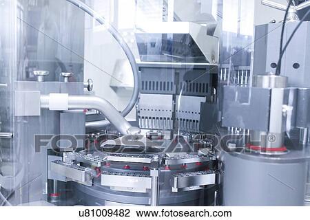Clip Art of Pharmaceutical machinery u81009482 - Search ...