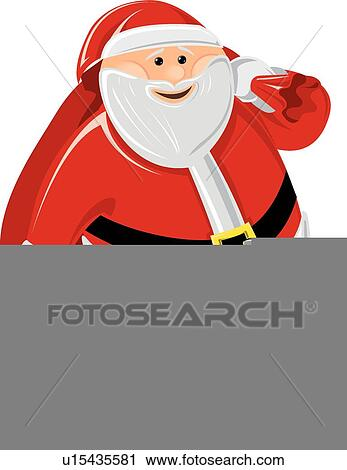 剪贴画 圣诞老人