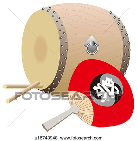 Stock Illustration of Drum and Fan u16743948 - Search EPS ...