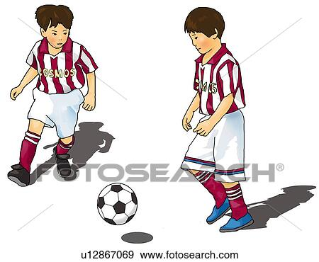 Two Boys Clipart