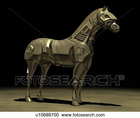 Roboter pferd