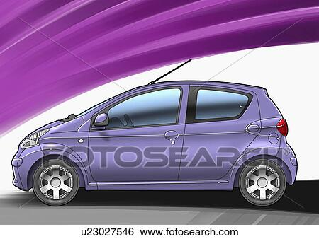 Stock Illustration of Purple Smoking Cross - Purple christian ...