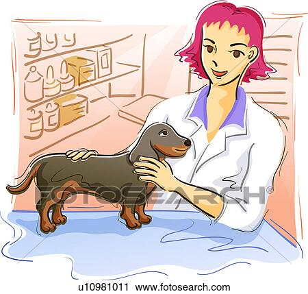 Risultati immagini per cani dal vet disegni