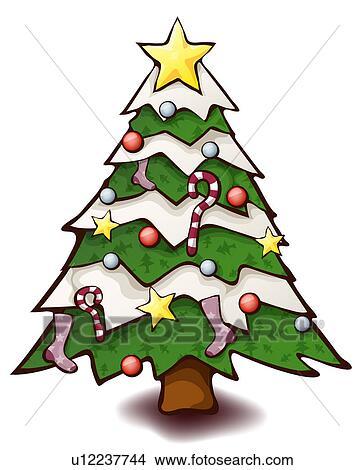 zeichnungen dekoriert weihnachtsbaum u12237744 suche. Black Bedroom Furniture Sets. Home Design Ideas