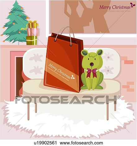 clipart weihnachtsgeschenke u19902561 suche clip art. Black Bedroom Furniture Sets. Home Design Ideas