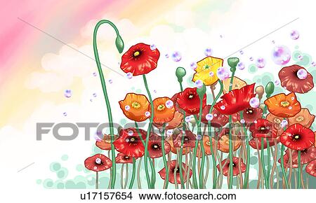 Flowering Plant Drawing Drawing Flowers Flower