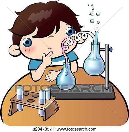 Tisch schule clipart  Clipart - schueler, suchen, tisch, buero, schule u23478571 - Suche ...