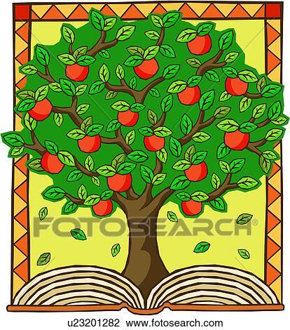 Piş kitap açık kitap elma meyve elma ağacı dikmek kitap