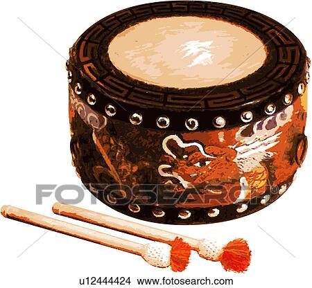 Drawings of korean classical music, musical instrument, music ...