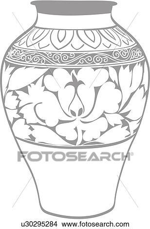 图画 陶瓷, 器皿, 文化, 财产, traditon, 韩国, 文化, 陶器 u