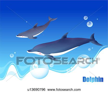 Stock Illustration of fish, sea, underwater, undersea ...