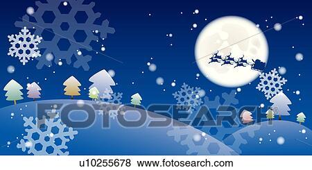 Stock Illustration   Object, Season, Snow, Scene, Background, Christmas  Accessory,