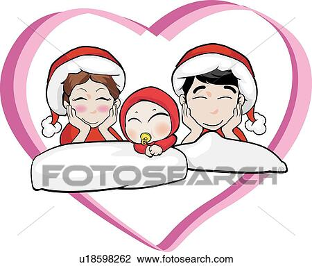 Mom Dad And Baby Drawing Clip Art Mom Dad And Baby