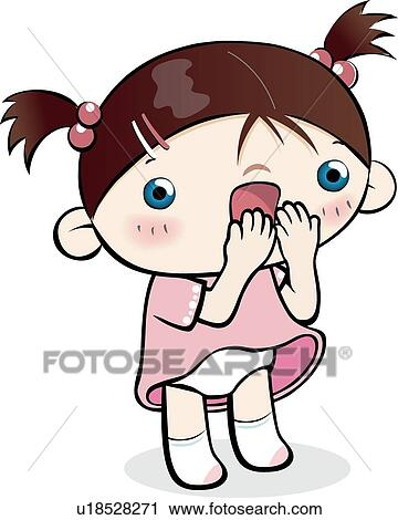 Clipart of Surprise, School life, women, woman, child ...