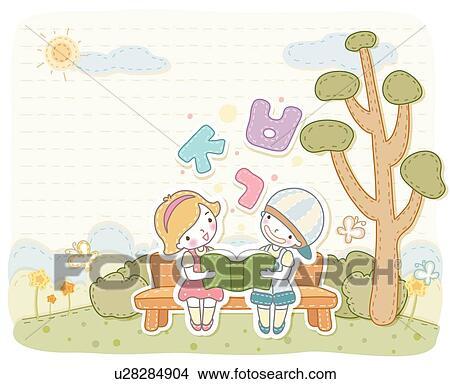 Vægplakater børn