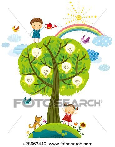 Stock Illustrations Of Save The Electricity U28667440