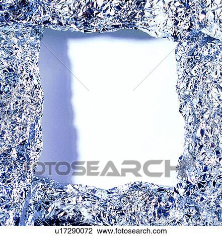 textured tin foil art stock photo of tinfoil decoration square decoration frame